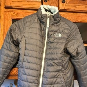 North Face reversible winter jacket